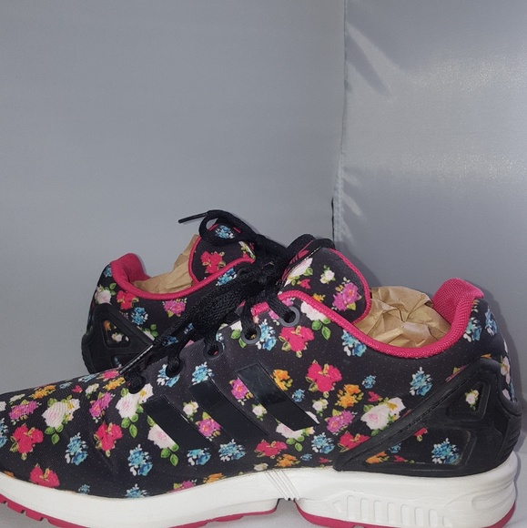 adidas Shoes - Adidas ZX Flux Floral Print Women s Shoes 6e028fe97